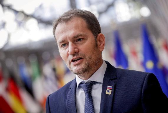 """Reuters""/""Scanpix"" nuotr./Slovakijos premjeras Igoris Matovičius"