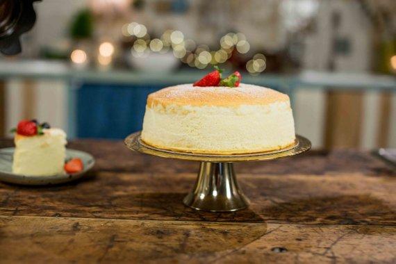 Laidos kūrėjų nuotr. /Japoniškas sūrio pyragas