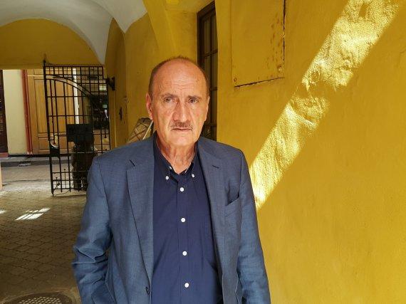 Pauliaus Cuberos nuotr./Luciano Capicchioni