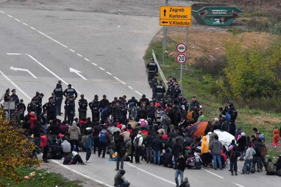 """AFP/""""Scanpix"""" nuotr./Pabėgėliai"""