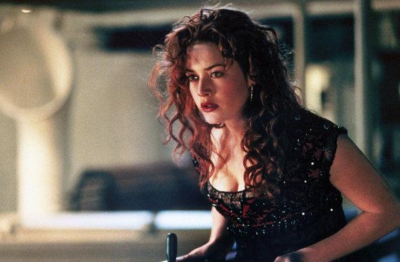 "Vida Press nuotr./Kate Winslet filme ""Titanikas"" (1997 m.)"