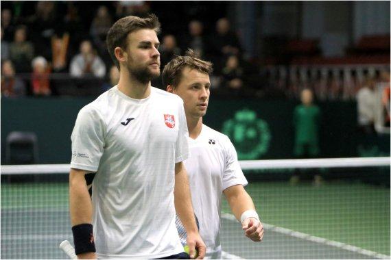 Lietuvos teniso sąjungos nuotr./Laurynas Grigelis ir Ričardas Berankis