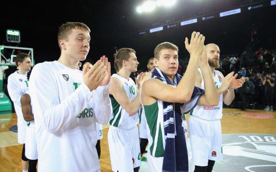Getty Images/Euroleague.net nuotr./Erikas Venskus ir Rokas Jokubaitis