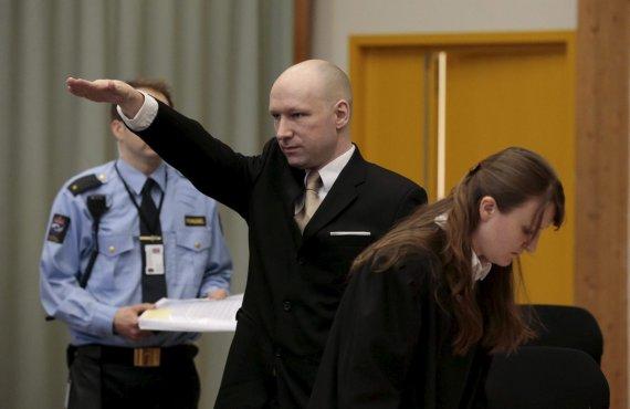 """Reuters""/""Scanpix"" nuotr./Andersas Behringas Breivikas"