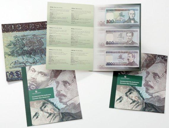 LB nuotr./Lietuvos bankas parduos išskirtinius litų banknotus – tarp jų ir 1000 litų kupiūros