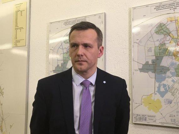 "Aurelijos Jašinskienės/15min.lt nuotr./Bendrovės ""Klaipėdos vanduo"" laikinasis vadovas Alenas Gumuliauskas"