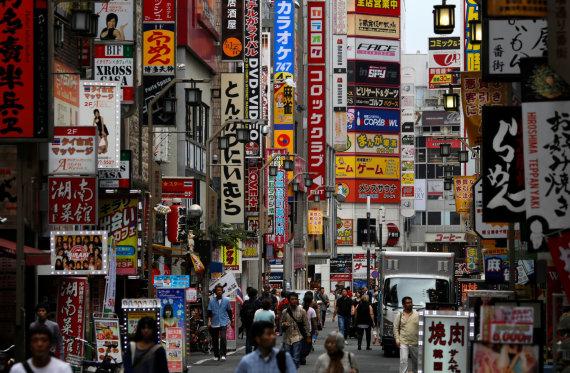 """""""Reuters""""/""""Scanpix"""" nuotr./Tokijas"""