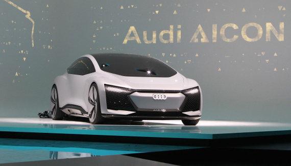 "AFP/""Scanpix"" nuotr./""Audi Aicon"""