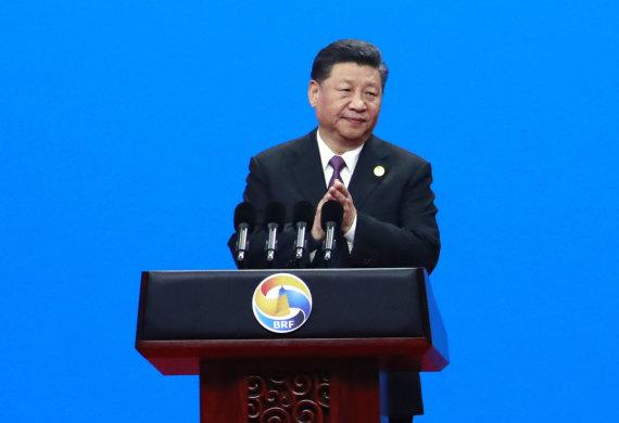 """Scanpix""/AP nuotr./Xi Jinpingas svarbiame forume Pekine"