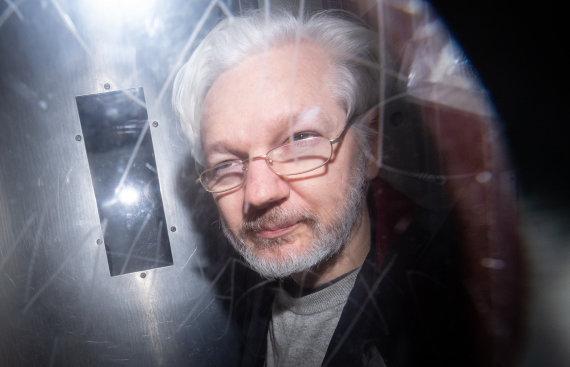 """Scanpix"" nuotr./Julianas Assange'as"