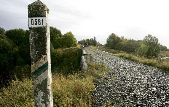 """Sigito Strazdausko (""""Santarvė"""") nuotr./Išardytas geležinkelio Rengė–Baugainiai ruožas"""