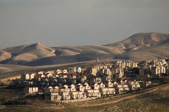 """""""Reuters""""/""""Scanpix"""" nuotr./Izraelio nausėdija okupuotame Vakarų Krante"""