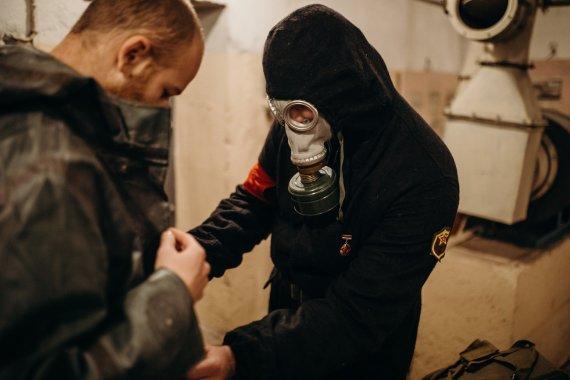 Šaltojo karo slėptuvė (bunkeris). Aut. Agnė Kertenytė