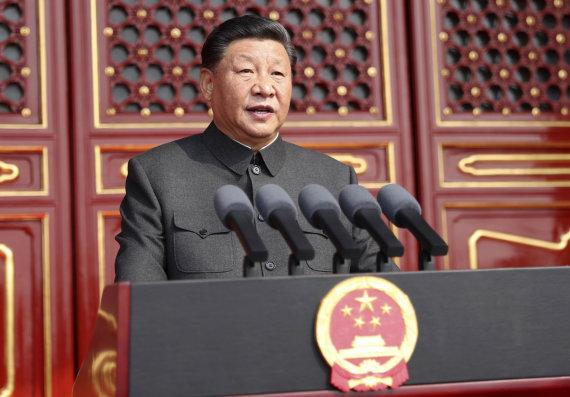 """""""Scanpix""""/AP nuotr./Xi Jinpingas"""