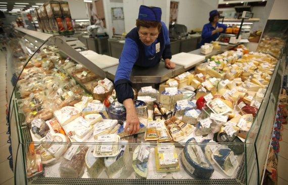"""Reuters""/""Scanpix"" nuotr./Parduotuvė Maskvoje"