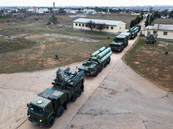 """Scanpix"" nuotr./S-400 oro gynybos sistema"