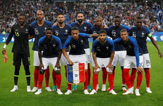 """Reuters""/""Scanpix"" nuotr./Prancūzijos futbolo rinktinė"