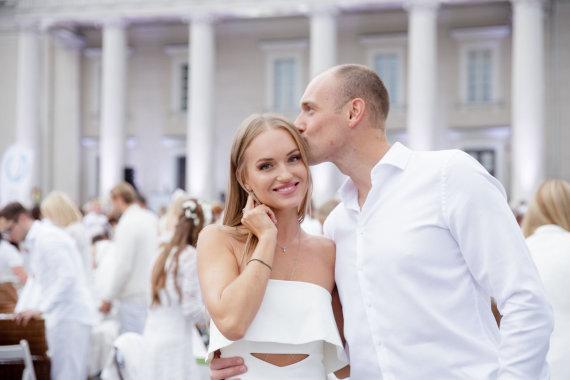 Josvydo Elinsko / 15min nuotr./Gintarė Gurevičiūtė ir Dmitrijus Jaruševičius