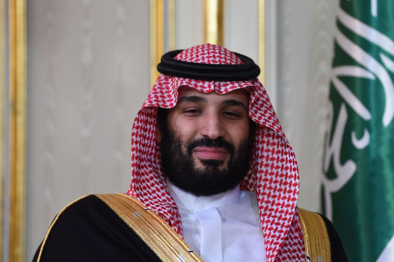 "AFP/""Scanpix"" nuotr./Mohammedas bin Salmanas"