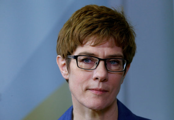 """Reuters""/""Scanpix"" nuotr./Annegret Kramp-Karrenbauer"