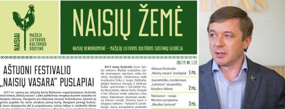 """15min nuotr./""""Naisių žemė"""" ir Ramūnas Karbauskis"""