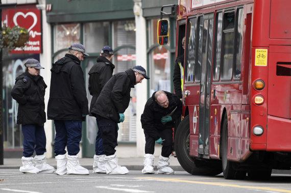 """""""Scanpix""""/AP nuotr./Teroristinio išpuolio Londone vietoje"""