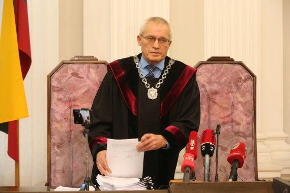 Vidmanto Balkūno / 15min nuotr./Teisėjas Stasys Lemežis