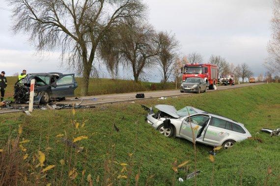 """sejny.net/Lenkijoje susidūrė """"Opel"""" ir """"Škoda"""" automobiliai"""