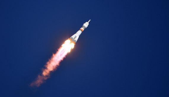 """""""Sputnik"""" nuotr./Erdvėlaivis """"Sojuz"""""""