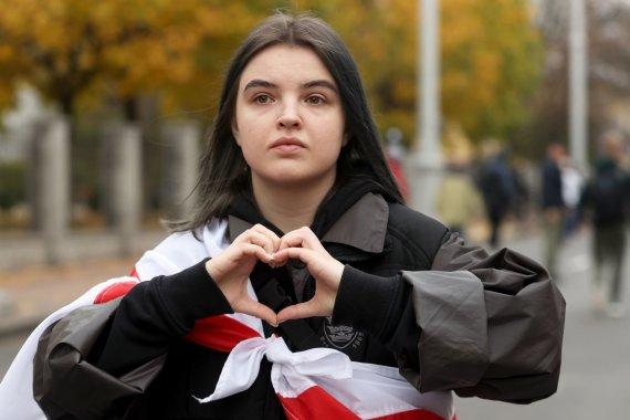 """Scanpix""/AP nuotr./Protestas Baltarusijoje"