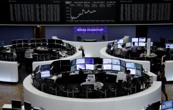 """Reuters""/""Scanpix"" nuotr./Frankfurto akcijų birža"