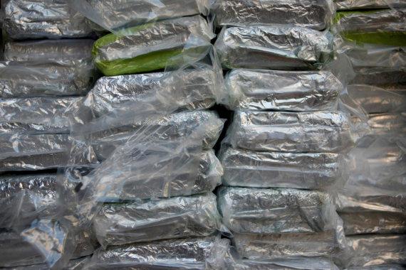 """AFP/""""Scanpix"""" nuotr./Kokainas"""