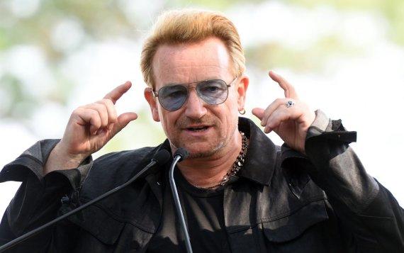 """AFP/""""Scanpix"""" nuotr./8 vieta: dainininkas Bono – 610 mln. JAV dolerių"""