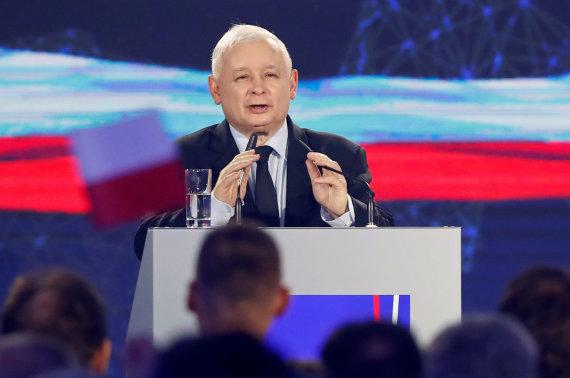 """""""Reuters""""/""""Scanpix"""" nuotr./Jaroslawas Kaczynskis"""