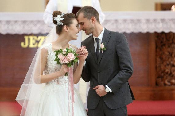 Teodoro Biliūno/Žmonės.lt nuotr./Ieva Zasimauskaitė ir Marius Kiltinavičius