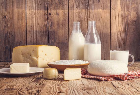 123RF.com nuotr./Pieno produktai