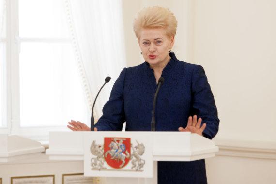 Vidmanto Balkūno / 15min nuotr./Prezidentė priima naujų teisėjų priesaikas
