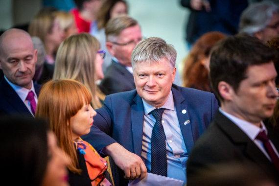 Mindaugo Mikulėno nuotr./Aplinkos ministras Kęstutis Navickas