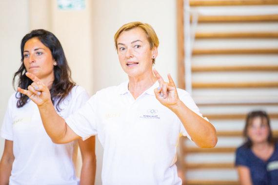 Asmeninė nuotr./Mokytoja Dalia Rakauskienė (dešinėje)