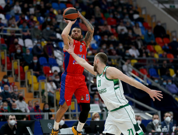 Getty Images/Euroleague.net nuotr./Mike'as Jamesas