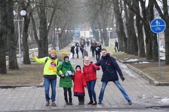 Liudo Pėstininko nuotr./Orientacinis žaidimas Šiauliuose