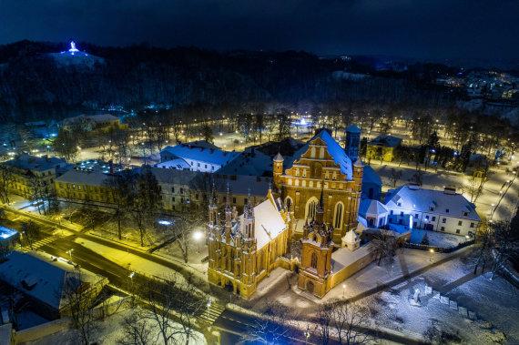 Irmanto Gelūno / 15min nuotr./Gimtadienį švenčiančio Vilniaus vaizdai
