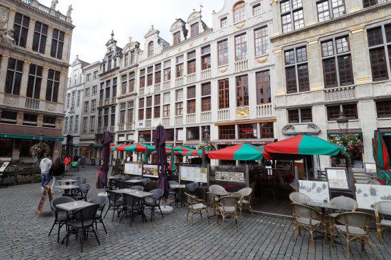 """""""Reuters""""/""""Scanpix"""" nuotr./Baras Briuselio Didžiojoje aikštėje"""