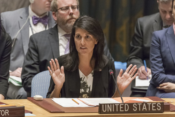 """Scanpix""/""Sipa USA"" nuotr./Nikki Haley"