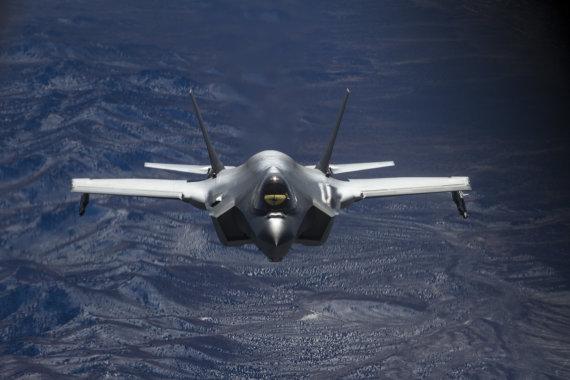"""Scanpix"" nuotr./Naikintuvas F-35"