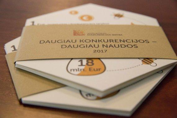 Mato Miežonio / 15min nuotr./Konkurencijos taryba pristatė praėjusių metų veiklos rezultatus