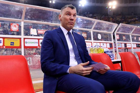 Getty Images/Euroleague.net nuotr./Šarūnas Jasikevičius 2018 m.