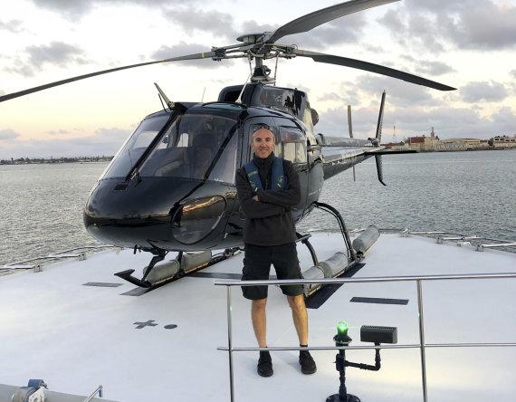 """""""Scanpix""""/AP nuotr./Ara Zobayanas pilotavo sraigtasparnį, dužusį netoli Los Andželo."""