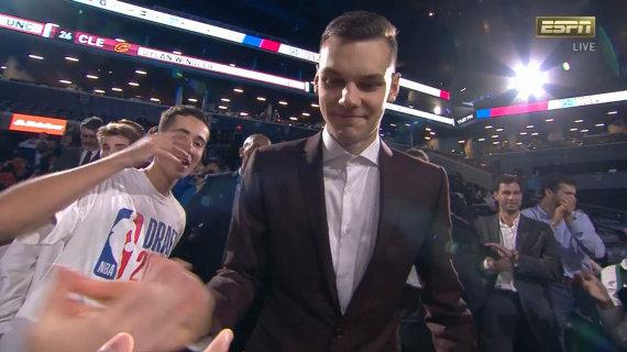 Stopkadras/Deividas Sirvydis pašauktas į NBA