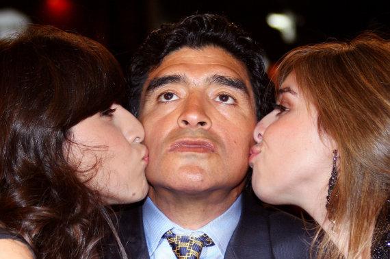 """""""Scanpix"""" nuotr./Diego Maradona"""